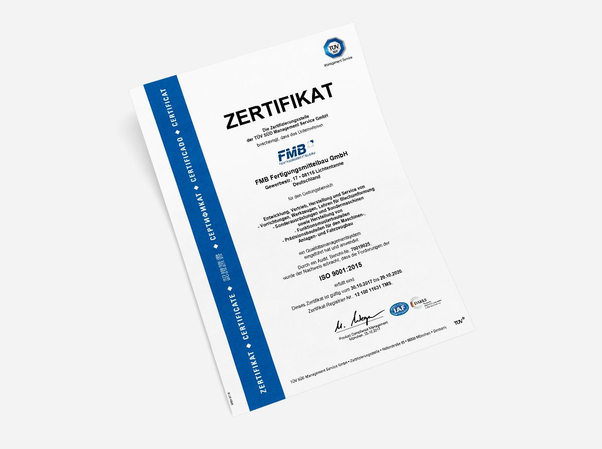 Re-Zertifizierung Qualitätsmanagementsystem